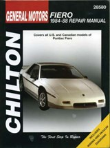 GM Fiero, 1984-88 | Chilton Automotive Books |