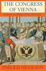 The Congress of Vienna | Harold Nicolson |