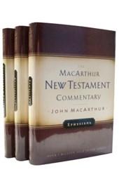 Pauline Epistles-Ephesians, Philippians, Col/Philemon-MacArthur NT Commentary Set