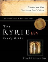 Ryrie Study Bible-ESV | Charles C. Ryrie |