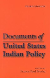 Documents of United States Indian Policy | auteur onbekend |