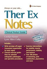 Ther Ex Notes | Carolyn Kisner |