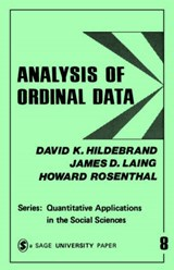 Analysis of Ordinal Data | Hildebrand, David K. ; Laing, James D. ; Rosenthal, Howard |