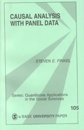 Casual Analysis with Panel Data | Steven E. Finkel |
