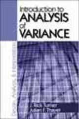 Introduction to Analysis of Variance | Turner, J. Rick ; Thayer, Julian F. |