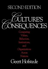 Culture's Consequences | Geert Hofstede |