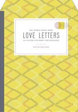 The World Needs More Love Letters Fold-and-mail Stationery | Hannah Brencher |