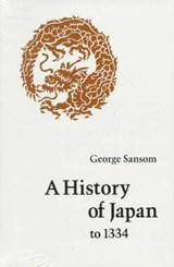 A History of Japan to | George Sansom |
