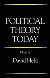 Political Theory Today | David Held |