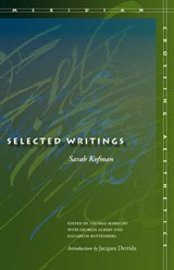 Selected Writings | Sarah Kofman |