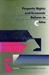Property Rights and Economic Reform in China | auteur onbekend |