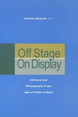 Off Stage/On Display | Andrew Shryock |