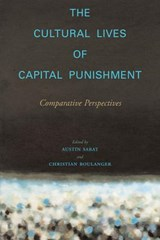 The Cultural Lives Of Capital Punishment | auteur onbekend |