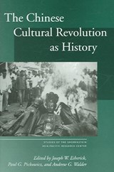 The Chinese Cultural Revolution As History | auteur onbekend |