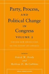 Party, Process, and Political Change in Congress, Volume |  |