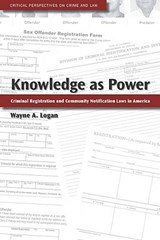 Knowledge As Power | Wayne A. Logan |