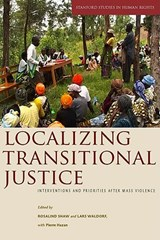 Localizing Transitional Justice | auteur onbekend |