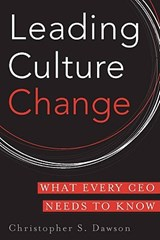 Leading Culture Change | Christopher S. Dawson |