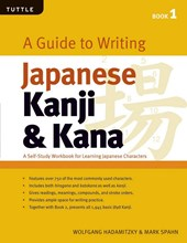 Guide to writing japanese kanji & kana