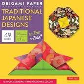 Origami paper traditional japanese designs - small
