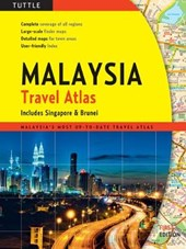 Tuttle Maylaysia Travel Atlas