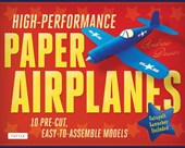 High performance paper airplanes kit