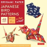 Origami paper: japanese bird patterns (small) | Tuttle Publishing |
