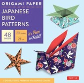 Origami paper: japanese bird patterns (large)