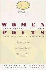 A Book of Women Poets from Antiquity to Now | Aliki Barnstone |