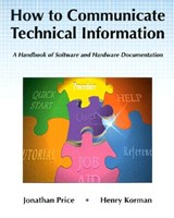 How to Communicate Technical Information | Price, Jonathan ; Korman, Henry |