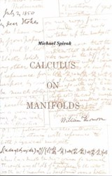 Calculus on Manifolds | Michael Spivak |