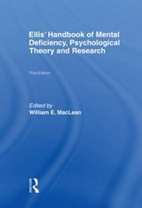 Ellis' Handbook of Mental Deficiency, Psychological Theory and Research | auteur onbekend |