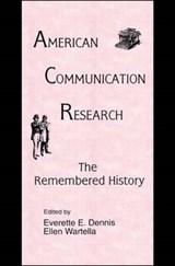 American Communication Research-The Remembered History |  |