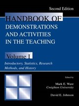 Handbook of Demonstrations and Activities in the Teaching of Psychology | Mark E. Ware |