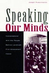 Speaking Our Minds | Joseph Russomanno |