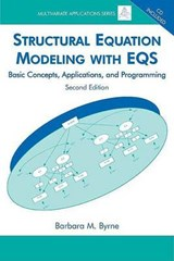 Structural Equation Modeling With Eqs | Barbara M. Byrne |