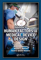 Handbook of Human Factors in Medical Device Design | auteur onbekend |