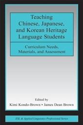 Teaching Chinese, Japanese, and Korean Heritage Language Students