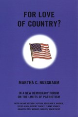 For Love of Country? | Martha C. Nussbaum |