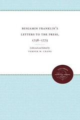 Benjamin Franklin's Letters to the Press, 1758-1775 | auteur onbekend |