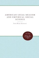 American Legal Realism and Empirical Social Science | John Henry Schlegel |