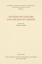 Antonio de Guevara Una Decada de Cesares