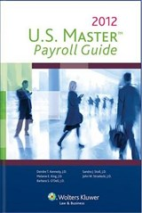 U.S. Master Payroll Guide, 2012 Edition | Cch Incorporated |