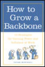 How to Grow a Backbone | Susan Marshall |