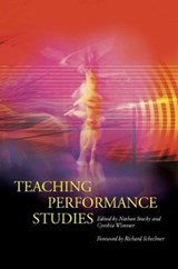 Teaching Performance Studies | auteur onbekend |