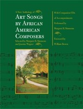 A New Anthology of Art Songs by African American Composers | Margaret R. Simmons |