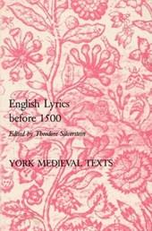 English Lyrics Before