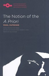 The Notion of the A Priori | Mikel Dufrenne |