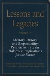 Lessons and Legacies IX