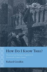 How Do I Know Thee? | Richard E. Goodkin |